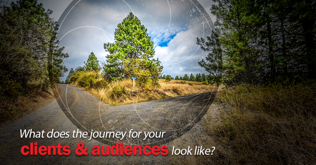 What does the customer experience of clients and audiences look like?