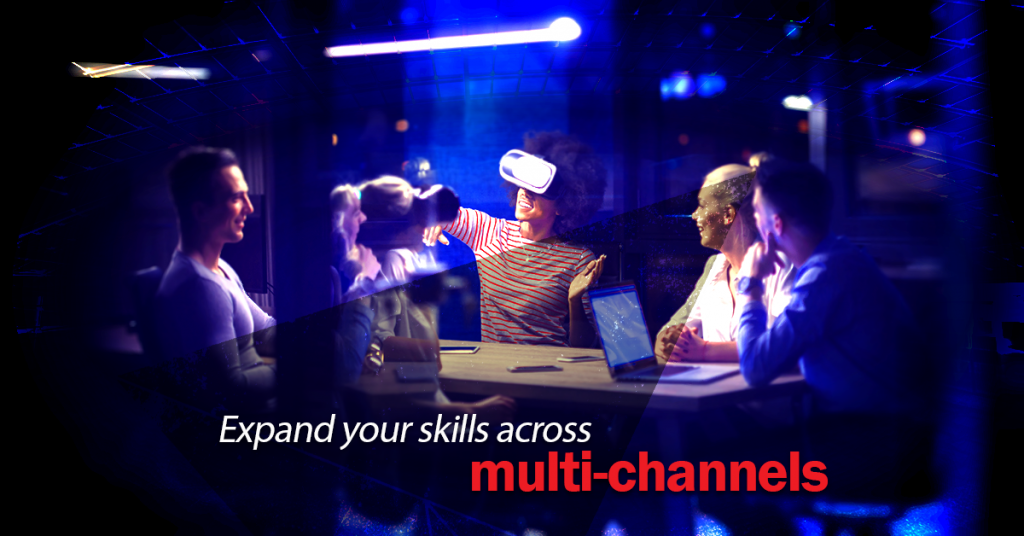 earth2mars - Space Travel - Expand your skills across multi-channels